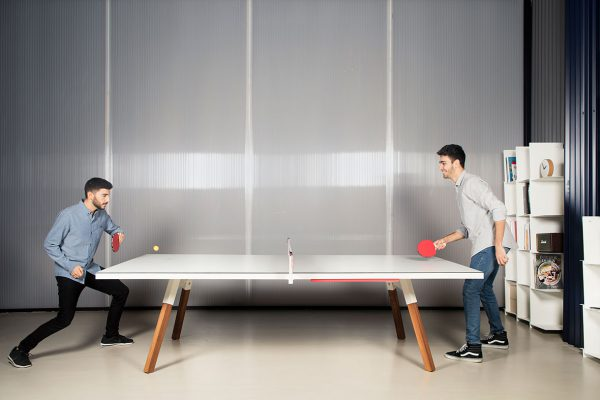 RS Barcelona tafel tennis tafel